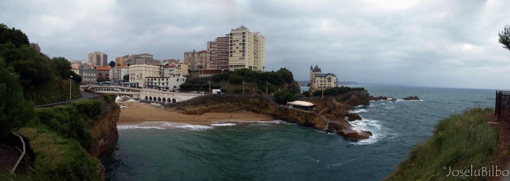 Port View. Biarritz