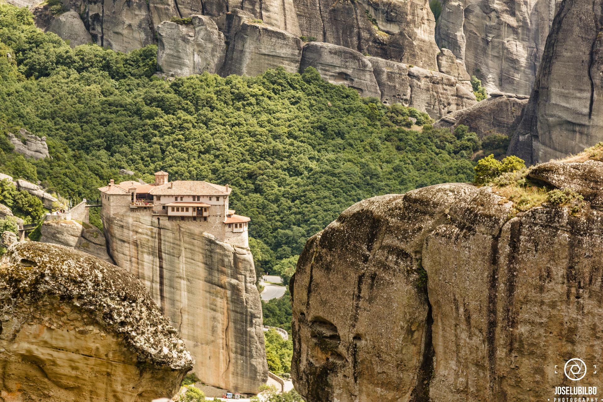 Monasterio de  Roussánou
